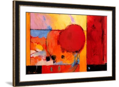 Red Cloud II-Tony Saladino-Framed Art Print