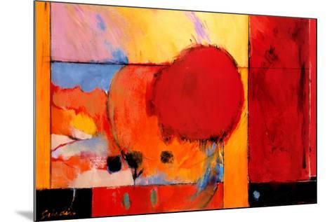 Red Cloud II-Tony Saladino-Mounted Art Print