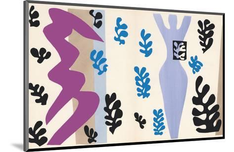 The Knife Thrower, pl. XV from Jazz, c.1943-Henri Matisse-Mounted Art Print