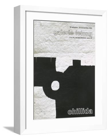 Galerie Lelong, 1990-Eduardo Chillida-Framed Art Print