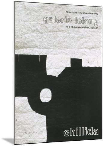 Galerie Lelong, 1990-Eduardo Chillida-Mounted Art Print