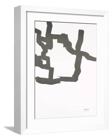Collage, 1969-Eduardo Chillida-Framed Art Print