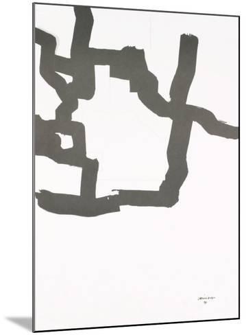 Collage, 1969-Eduardo Chillida-Mounted Art Print