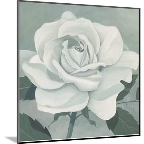 White Rose-Franz Heigl-Mounted Art Print