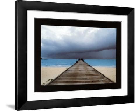 Archipel des Maldives-Benjamin Loyseau-Framed Art Print