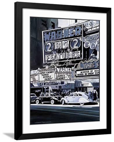Broadway I-Alain Bertrand-Framed Art Print