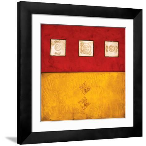Horizontal Abstract Trio-Courtland-Framed Art Print