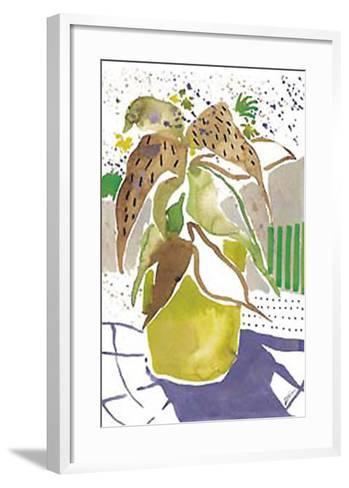 Plant Outline I-Lola Soto-vicario-Framed Art Print