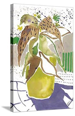 Plant Outline I-Lola Soto-vicario-Stretched Canvas Print
