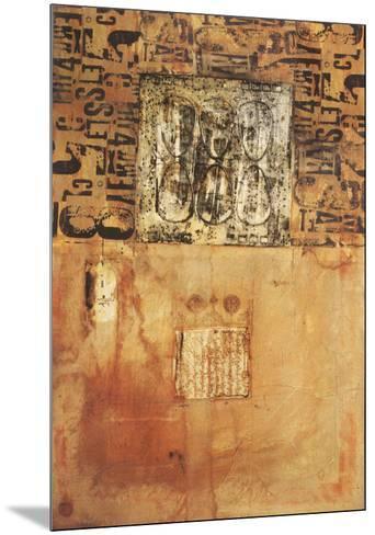 Sans Titre II-Eric Bleicher-Mounted Art Print