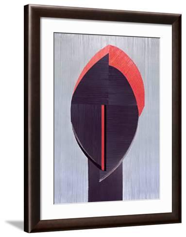 Masque Aborigaine IV-Marine Guillemot-Framed Art Print