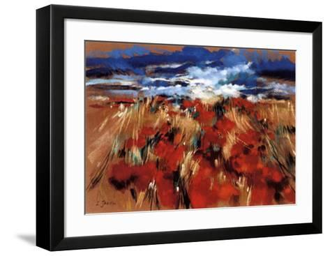 L'Eclair Bleu-Isabelle Jacopin-Framed Art Print