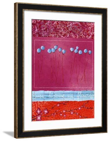 Histoire de Fleurs au Printemps-Marie Le Houerou-Framed Art Print