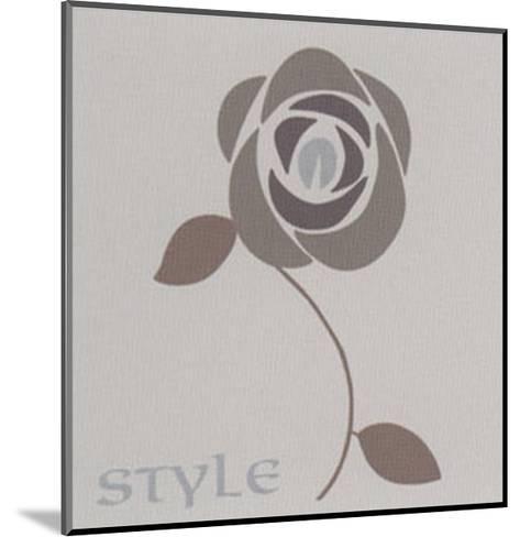 Style I-Lenoir-Mounted Art Print