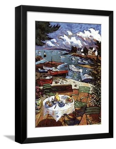 La Terrasse-Morlaine-Framed Art Print