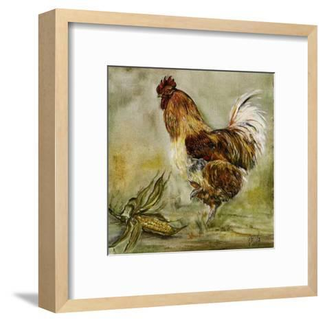 Coq et Mais-Clauva-Framed Art Print