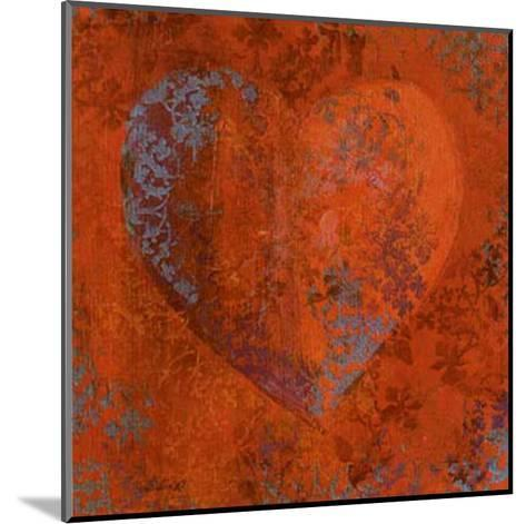 Cuore Orange-Roberta Ricchini-Mounted Art Print