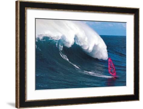 Robby Naish-Sylvain Cazenave-Framed Art Print
