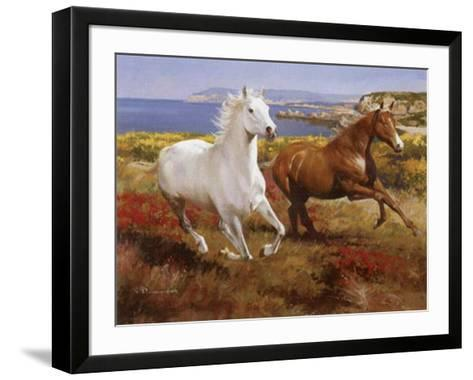 Free as the Wind-Spartaco Lombardo-Framed Art Print
