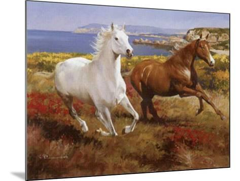 Free as the Wind-Spartaco Lombardo-Mounted Art Print
