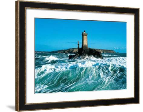 La Pointe du Raz-Yannick Le Gal-Framed Art Print