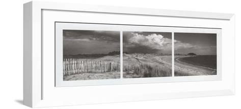 Les Trois Plages-Yannick Le Gal-Framed Art Print