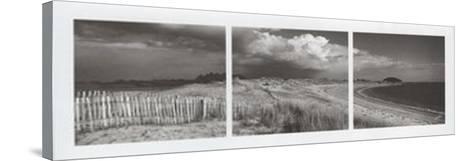 Les Trois Plages-Yannick Le Gal-Stretched Canvas Print