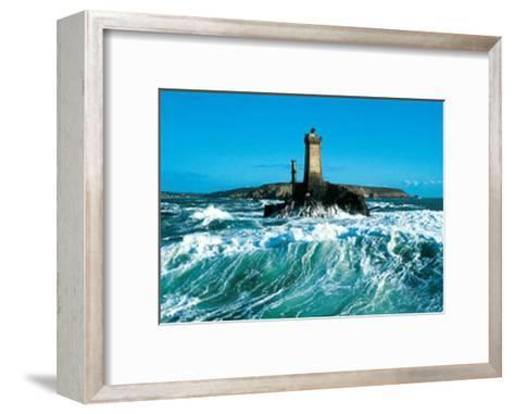 Pointe du Raz-Yannick Le Gal-Framed Art Print