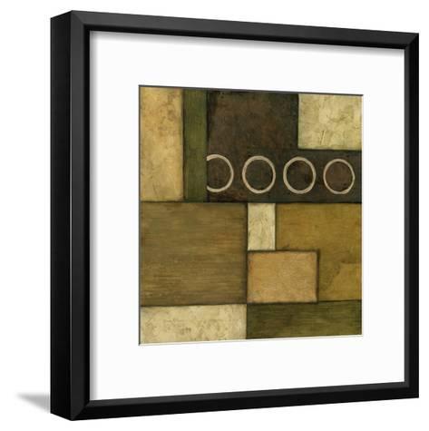 Linear Sphere I-Norm Olson-Framed Art Print