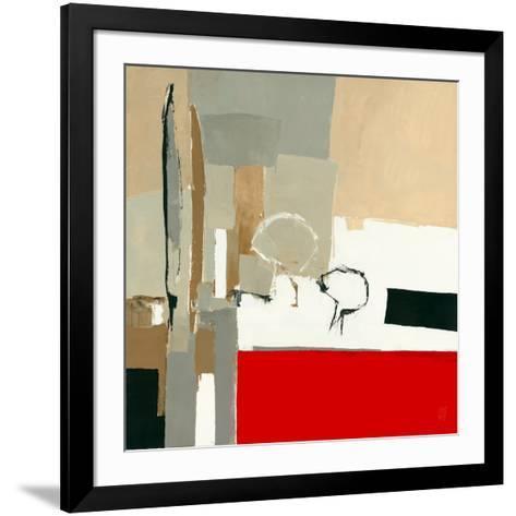 Provence, Les Terres Rouges-Christian Choisy-Framed Art Print