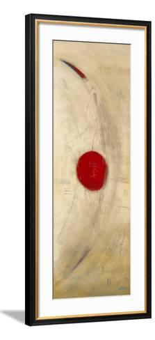Triptyque Rouge III-Carole B?cam-Framed Art Print