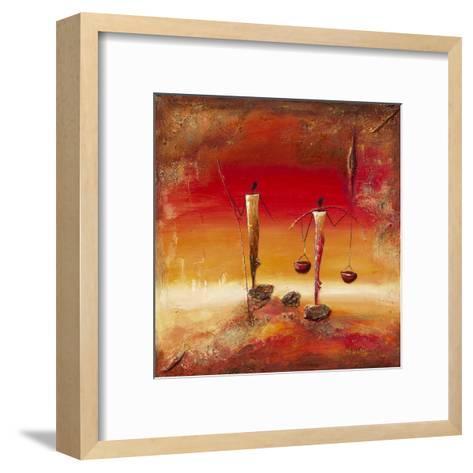 Au Coucher-Marso-Framed Art Print