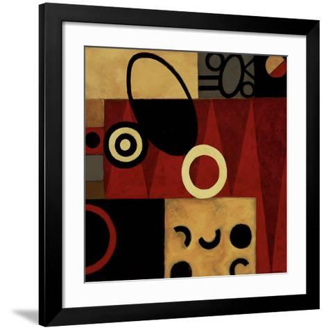 Of Aces and Queens-Jane Burns-Framed Art Print