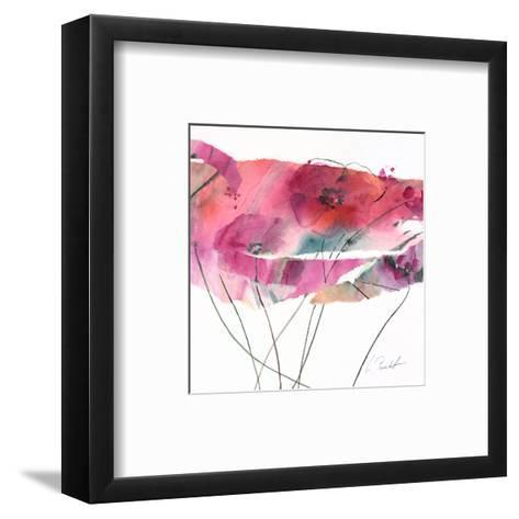Modern Poppy IV-Marta Peuckert-Framed Art Print