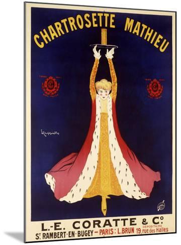 Chartrosette Mathieu-Leonetto Cappiello-Mounted Giclee Print