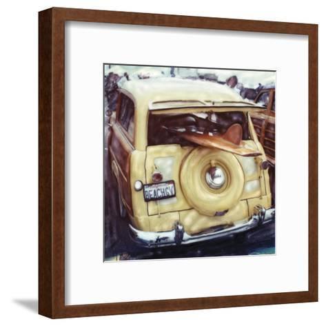 Beach Guy-Rene Griffith-Framed Art Print