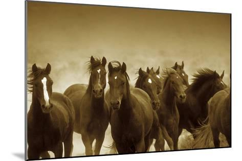 The Meeting-Tony Stromberg-Mounted Art Print