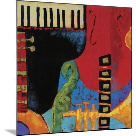 Juxta Jazz III-Karen Dupr?-Mounted Art Print