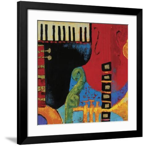 Juxta Jazz III-Karen Dupr?-Framed Art Print