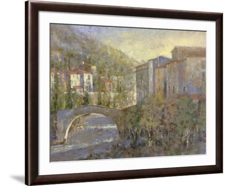 Bridge Village-Michael Longo-Framed Art Print