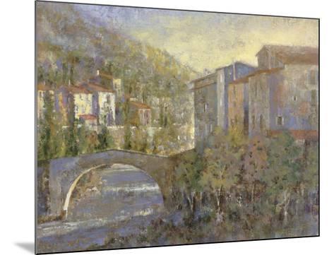 Bridge Village-Michael Longo-Mounted Art Print