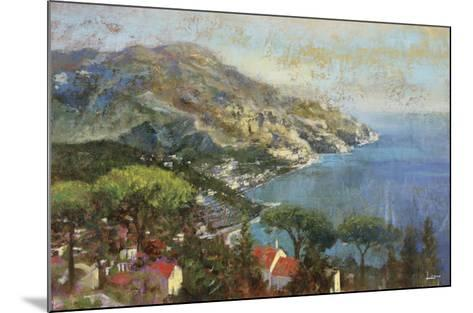 Coastal Reflection-Michael Longo-Mounted Art Print