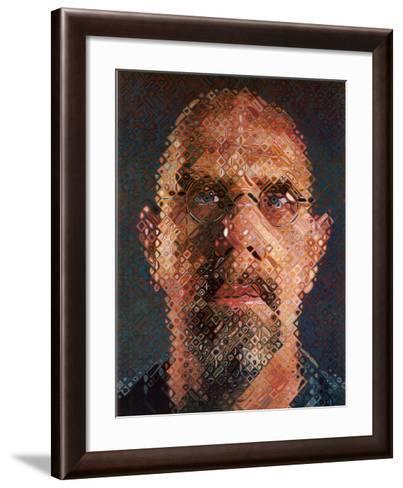 Self-Portrait, 2000-2001-Chuck Close-Framed Art Print