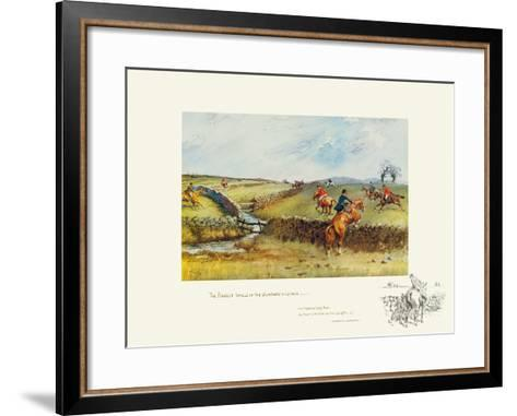 The Biggest Walls-Snaffles-Framed Art Print