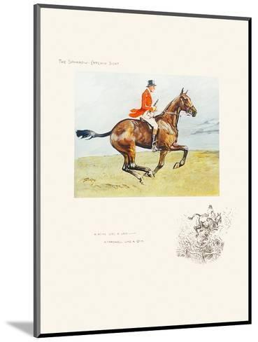 A Head Like a Lady-Snaffles-Mounted Premium Giclee Print