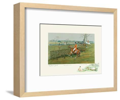 The Stake and Bound-Snaffles-Framed Art Print