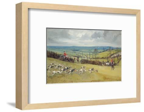 The Whaddon Chase-Lionel Edwards-Framed Art Print