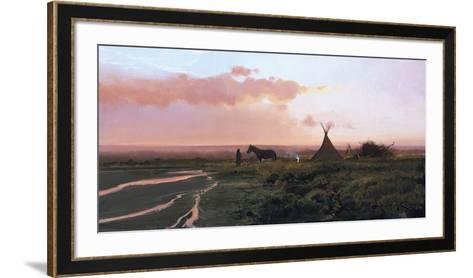 At Dusk-Nicholas Coleman-Framed Art Print