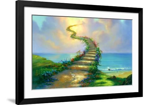 Stairway to Heaven-Jim Warren-Framed Art Print
