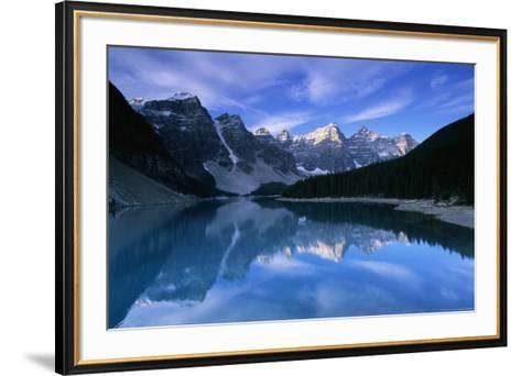 Lake Moraine-Charlie Munsey-Framed Art Print